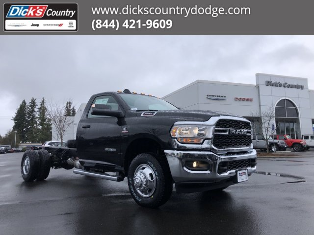 2020 Ram 3500 Regular Cab DRW 4x4, Cab Chassis #T0R073 - photo 1