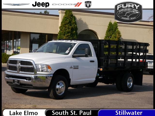 2017 Ram 3500 Regular Cab DRW 4x4,  Knapheide Heavy-Hauler Junior Stake Bed #217158 - photo 1