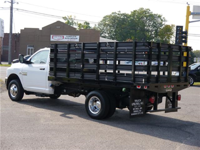 2017 Ram 3500 Regular Cab DRW 4x4,  Knapheide Heavy-Hauler Junior Stake Bed #217158 - photo 2