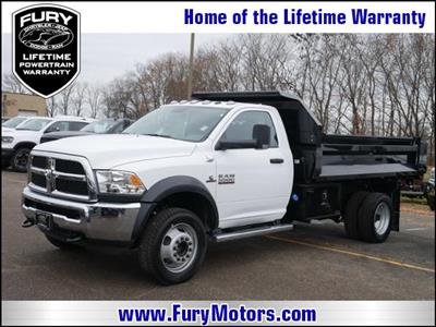 2018 Ram 5500 Regular Cab DRW 4x4,  Knapheide Drop Side Dump Body #218352 - photo 1