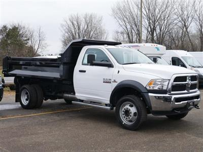2018 Ram 5500 Regular Cab DRW 4x4,  Knapheide Drop Side Dump Body #218352 - photo 4