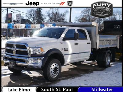 2018 Ram 5500 Crew Cab DRW 4x4, Rugby Eliminator LP Stainless Steel Dump Body #218371 - photo 1