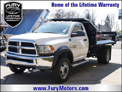 2018 Ram 4500 Regular Cab DRW 4x4,  Knapheide Drop Side Dump Body #218409 - photo 1