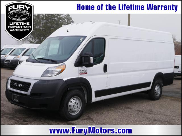 2019 ProMaster 3500 High Roof FWD,  Empty Cargo Van #219161 - photo 1