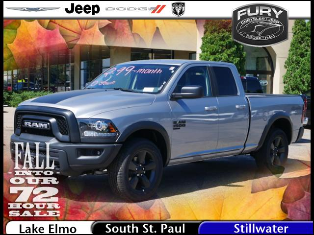 2019 Ram 1500 Quad Cab 4x4,  Pickup #219284 - photo 1