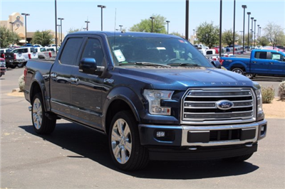 2017 F-150 Crew Cab 4x4, Pickup #FH1523 - photo 4