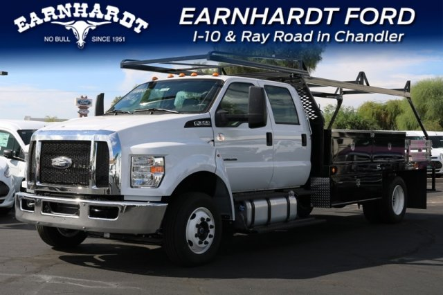2019 F-650 Crew Cab DRW 4x2,  Scelzi Contractor Body #FK350 - photo 1