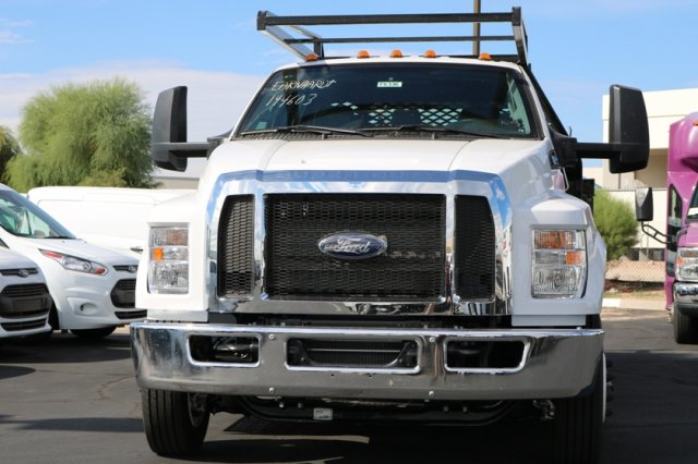 2019 F-650 Crew Cab DRW 4x2,  Scelzi Contractor Body #FK350 - photo 3