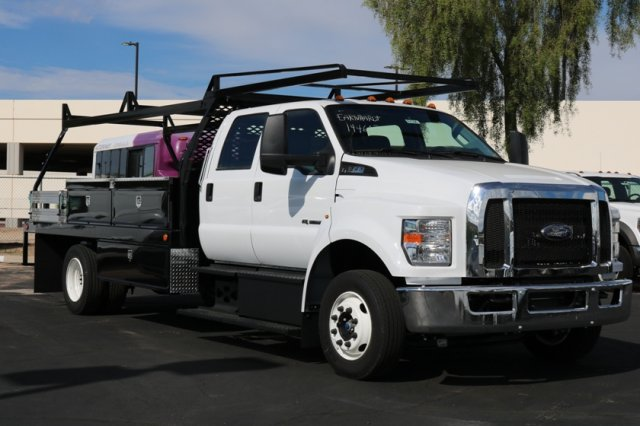 2019 F-650 Crew Cab DRW 4x2,  Scelzi Contractor Body #FK350 - photo 4