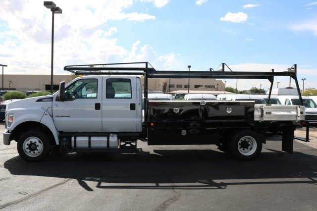 2019 F-650 Crew Cab DRW 4x2,  Scelzi Contractor Body #FK350 - photo 2