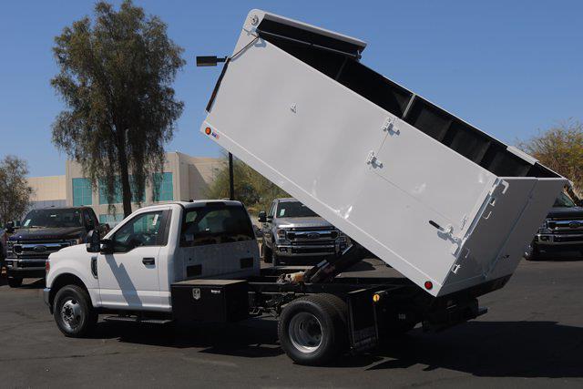 2020 Ford F-350 Regular Cab DRW 4x2, Sun Country Truck Landscape Dump #FL2470 - photo 9
