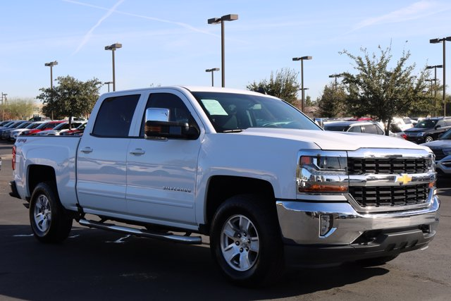2018 Chevrolet Silverado 1500 Crew Cab 4x4, Pickup #FL2522A - photo 4