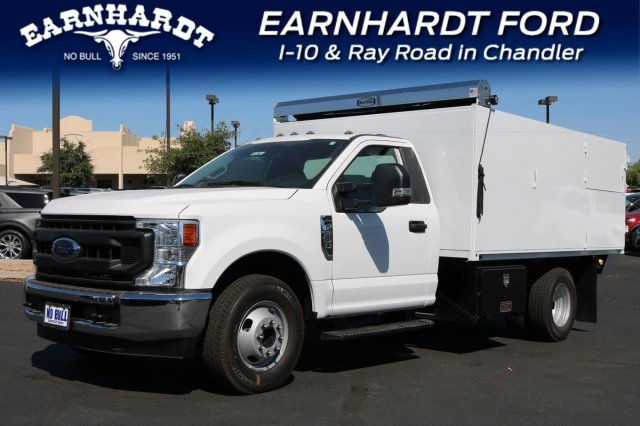 2020 Ford F-350 Regular Cab DRW 4x2, Drake Equipment Landscape Dump #FL982 - photo 1