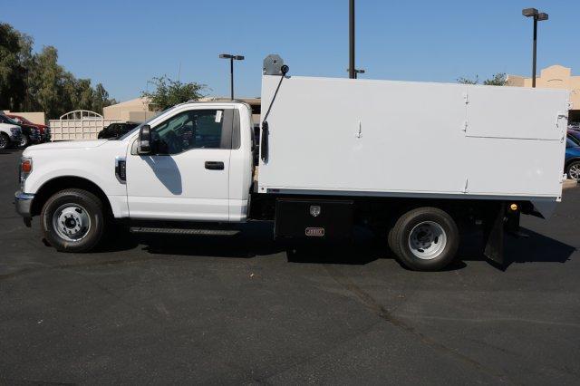 2020 F-350 Regular Cab DRW 4x2, Drake Equipment Landscape Dump #FL982 - photo 8