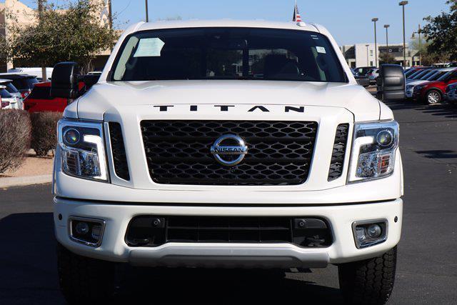 2018 Nissan Titan Crew Cab 4x4, Pickup #FM317A - photo 3