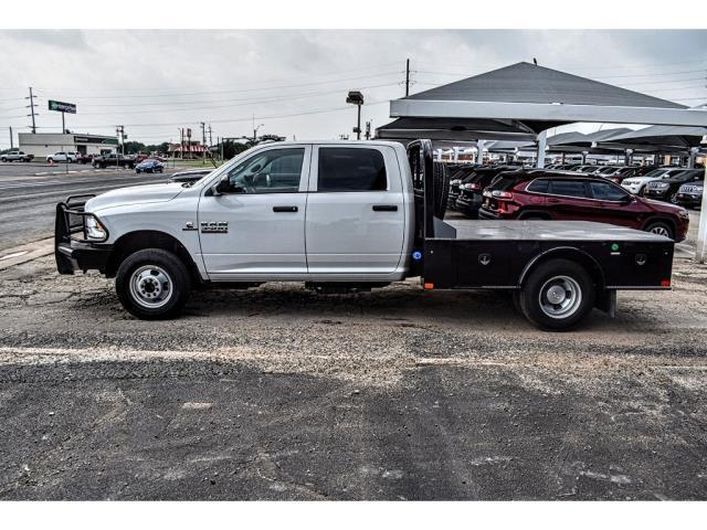 2018 Ram 3500 Crew Cab DRW 4x4,  CM Truck Beds SK Model Platform Body #JG362856 - photo 7