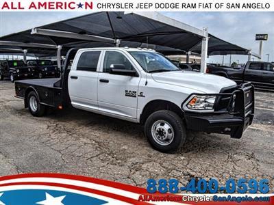 2018 Ram 3500 Crew Cab DRW 4x4,  CM Truck Beds SK Model Platform Body #JG362856 - photo 1