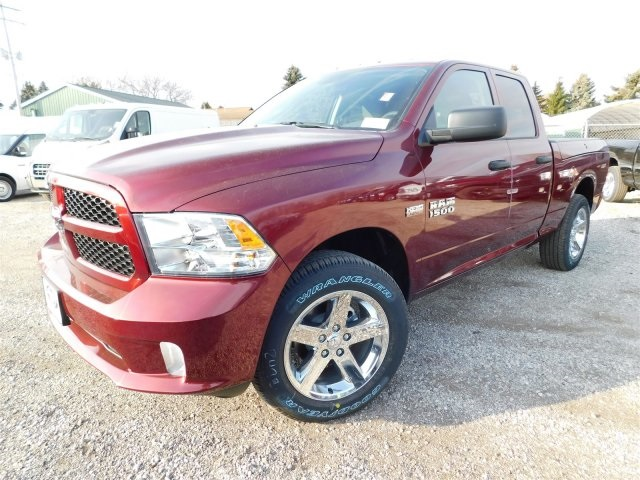 2018 Ram 1500 Quad Cab 4x4,  Pickup #418091 - photo 4