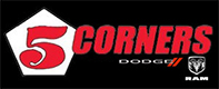 5 Corners Dodge Chrysler Ram Jeep logo