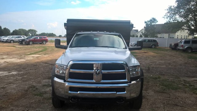 2016 Ram 5500 Regular Cab DRW, Rugby Landscape Dump #J6862 - photo 3