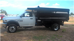2016 Ram 5500 Regular Cab DRW, Rugby Uni-Body Landscaper Landscape Dump #J6862 - photo 4
