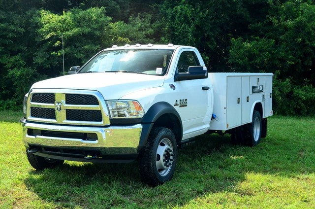 2017 Ram 5500 Regular Cab DRW 4x4, Reading Classic II Steel Service Body #J7571 - photo 1