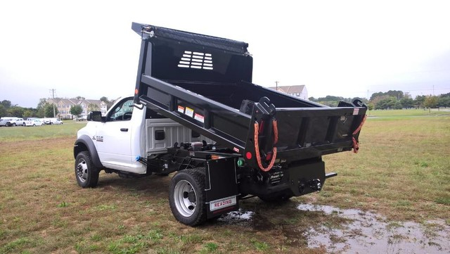2018 Ram 5500 Regular Cab DRW 4x4, Reading Dump Body #J8036 - photo 2