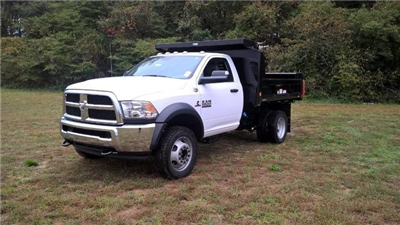 2018 Ram 5500 Regular Cab DRW 4x4,  Reading Marauder Standard Duty Dump Body #J8036 - photo 1