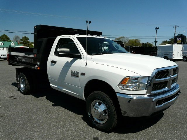 2018 Ram 3500 Regular Cab DRW 4x4, Dump Body #J8247 - photo 1