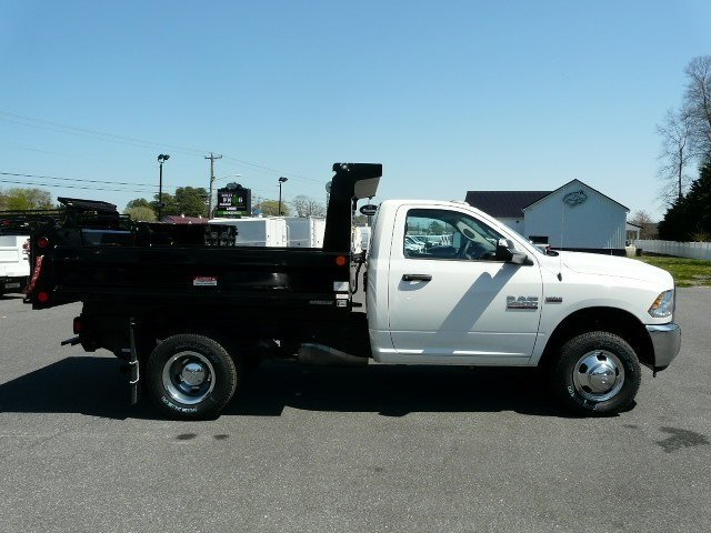 2018 Ram 3500 Regular Cab DRW 4x4, Dump Body #J8247 - photo 2