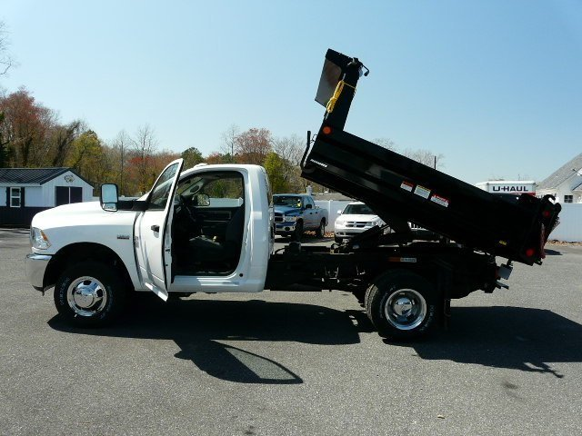 2018 Ram 3500 Regular Cab DRW 4x4, Dump Body #J8247 - photo 5