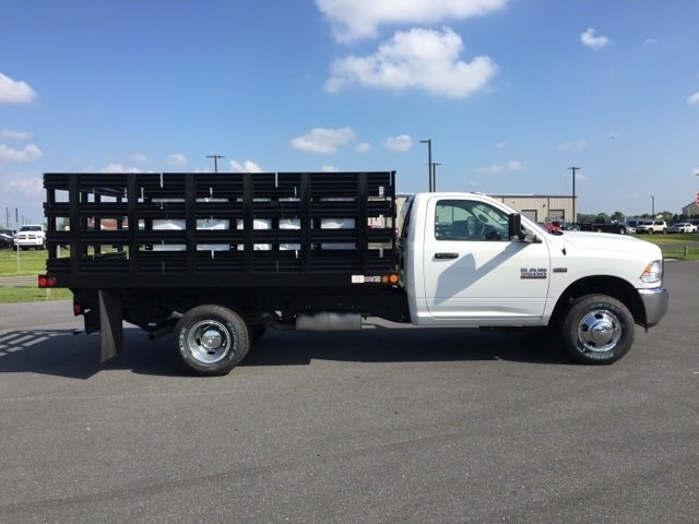 2018 Ram 3500 Regular Cab DRW 4x4,  Stake Bed #J8421 - photo 2