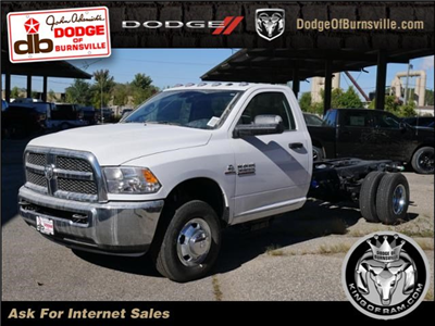2017 Ram 3500 Regular Cab DRW 4x4 Cab Chassis #N18890 - photo 1
