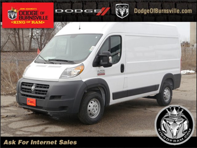 2018 ProMaster 2500 High Roof 4x2,  Empty Cargo Van #N25093 - photo 1