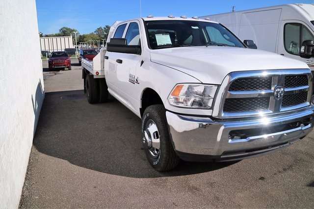2017 Ram 3500 Crew Cab DRW 4x4, Monroe Platform Body #M170428 - photo 3