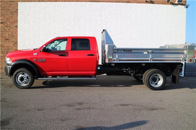 2018 Ram 5500 Crew Cab DRW 4x4, Tafco Dump Body #M18062 - photo 3