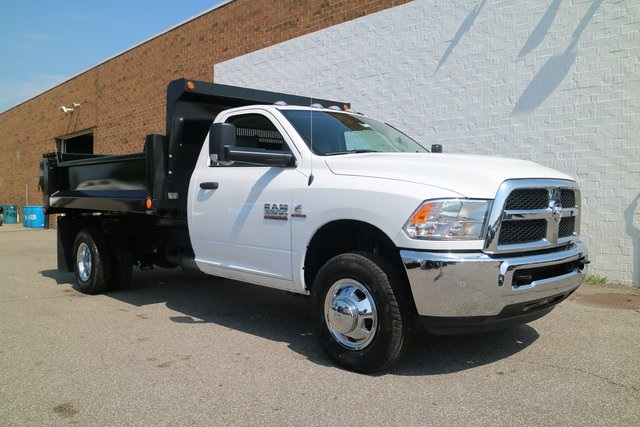 2018 Ram 3500 Regular Cab DRW 4x2,  Galion Dump Body #M18075 - photo 7