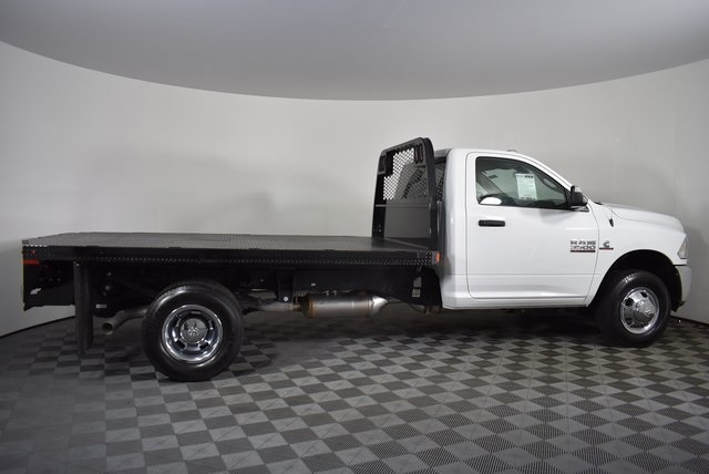 2018 Ram 3500 Regular Cab DRW 4x2,  Knapheide Platform Body #M181253 - photo 6