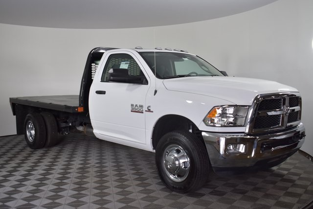 2018 Ram 3500 Regular Cab DRW 4x2,  Knapheide Platform Body #M181253 - photo 7