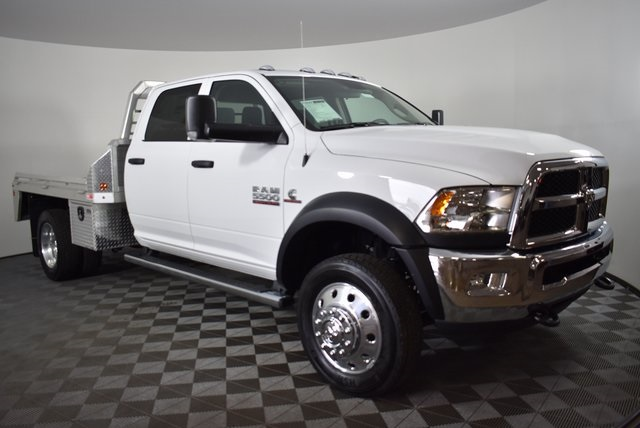 2018 Ram 5500 Crew Cab DRW 4x4,  Monroe Platform Body #M181269 - photo 4
