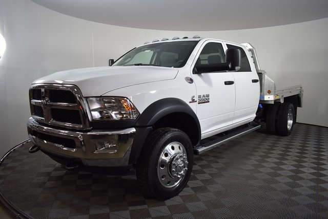 2018 Ram 5500 Crew Cab DRW 4x4,  Monroe Platform Body #M181269 - photo 6