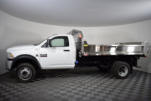 2018 Ram 4500 Regular Cab DRW 4x4,  Monroe Dump Body #M181272 - photo 3