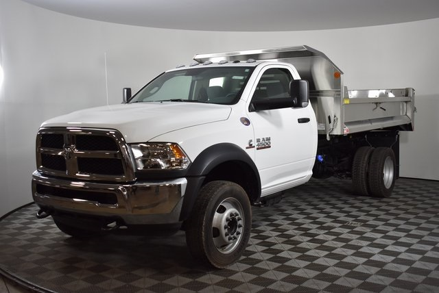 2018 Ram 4500 Regular Cab DRW 4x4,  Monroe Dump Body #M181272 - photo 8