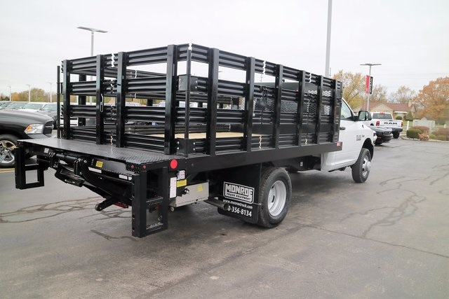 2018 Ram 3500 Regular Cab DRW, Monroe Stake Bed #M18129 - photo 4