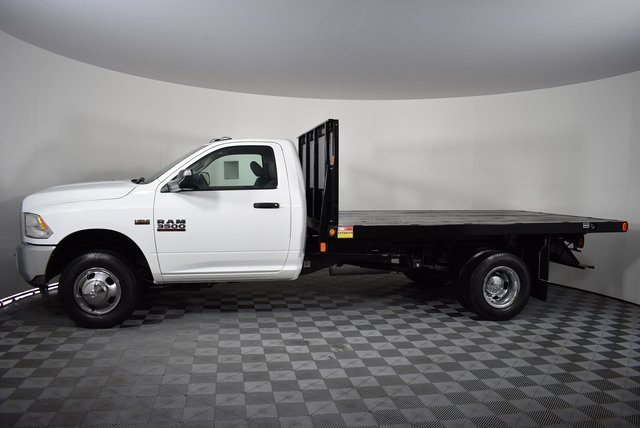 2018 Ram 3500 Regular Cab DRW 4x4,  Monroe Platform Body #M181290 - photo 3