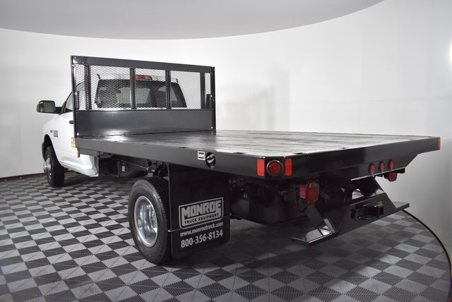 2018 Ram 3500 Regular Cab DRW 4x4,  Monroe Platform Body #M181290 - photo 2