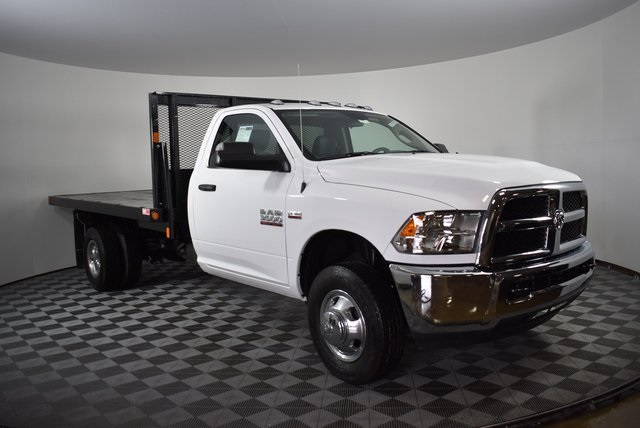 2018 Ram 3500 Regular Cab DRW 4x4,  Monroe Platform Body #M181290 - photo 5