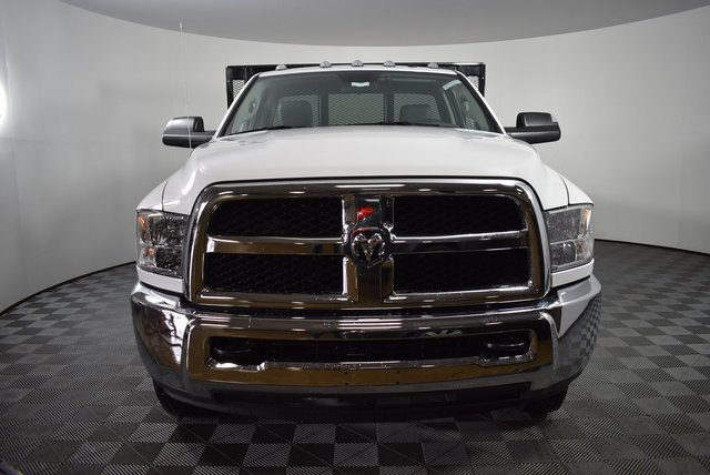 2018 Ram 3500 Regular Cab DRW 4x4,  Monroe Platform Body #M181290 - photo 6
