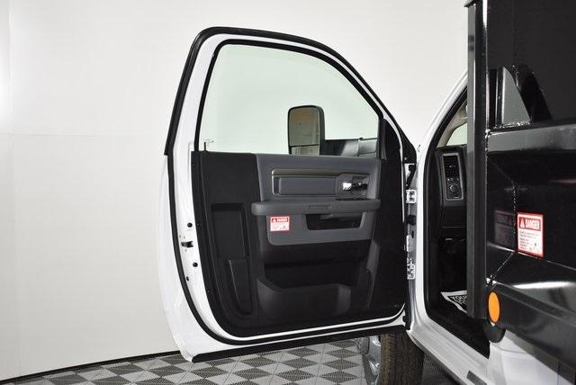 2018 Ram 3500 Regular Cab DRW 4x4,  Crysteel E-Tipper Dump Body #M181338 - photo 17