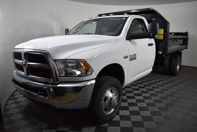 2018 Ram 3500 Regular Cab DRW 4x4,  Crysteel Dump Body #M181338 - photo 7